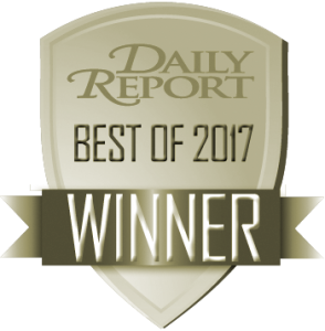 Daily Report 2017 Best Atlanta Legal Recruiter in Atlanta, GA Award