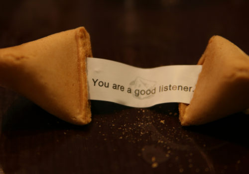 Fortune Cookie Listener