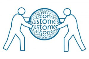 People Customer Globe