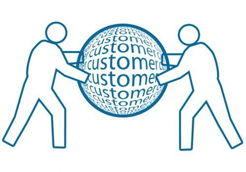 People Customer Globe