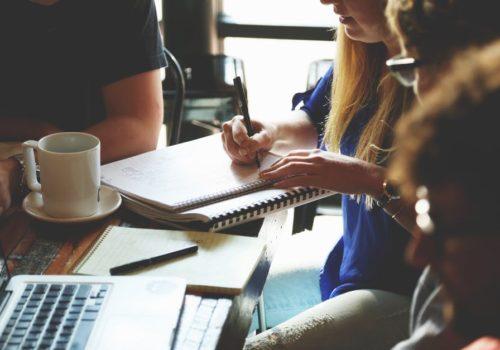 People Woman Coffee Meeting
