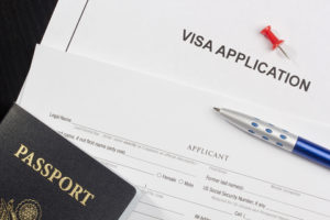 visa application passport